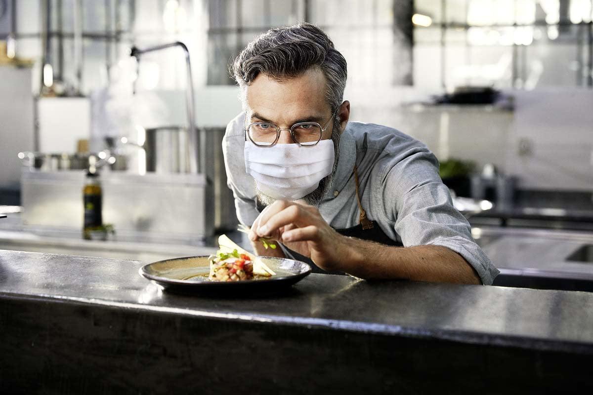 lente antiembacante cozinhando