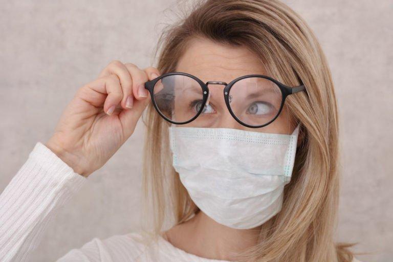 Óculos Embaçado por causa da Mascara